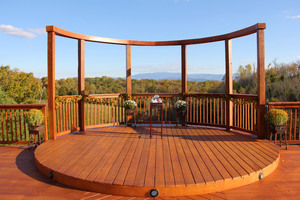 Mountain View Deck at Flower Mountain
