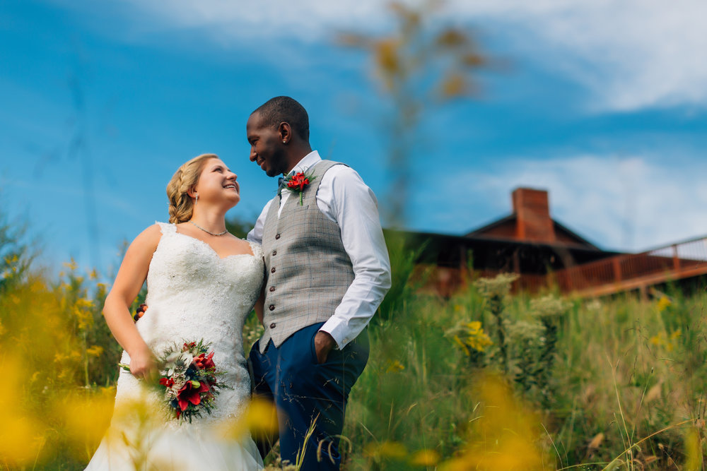 """""""…we fell in love with the scenery and the photography…"""" - My Husband and I choose Flower Mountain Wedding Venue because we fell in love with the scenery and the photography! The staff members Sarah and Casie are amazing at what they do and we wanted our biggest day to be remembered through the pictures captured! We live in Cincinnati Ohio and traveled out of town for our big day and it was a stress free day from beginning to end because of the preparation they do!- Melanie & Lavell SmithSeptember 29, 2018"""