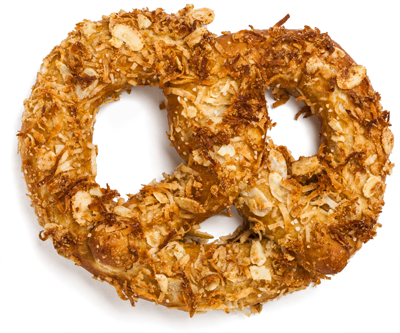 Coconut Almond Pretzel