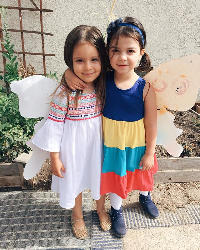 Dear Rosie, Mila is so lucky to call you her BFF 💕 And I'm so lucky to have met your mama @emilyelisha #happy4thbirthday to a very special girl! Hope you continue to always make ice magic as you dance through life ✨❄️✨ #caterpillarcottagekids #butterfliesinthemaking