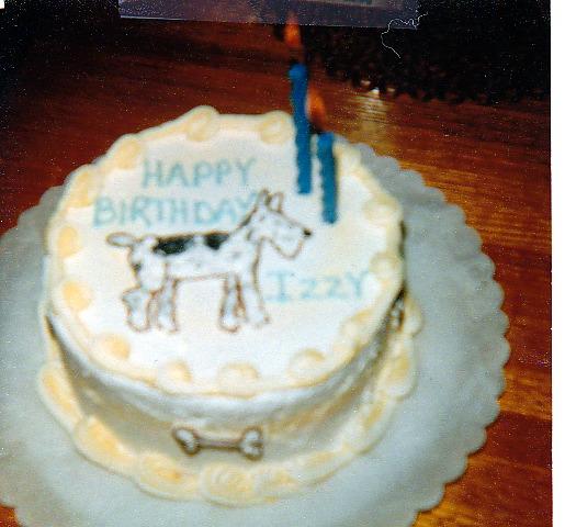 Izzy's Birthday.