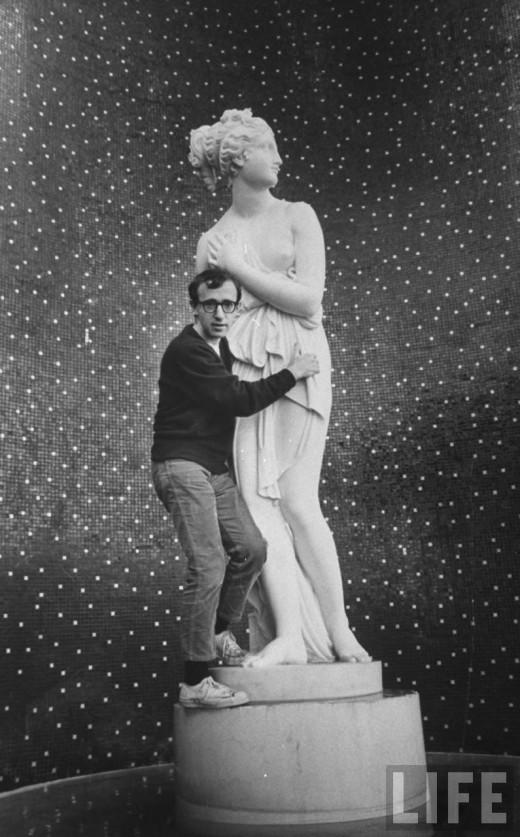 anneyhall :        Woody Allen    in Las Vegas, 1966.