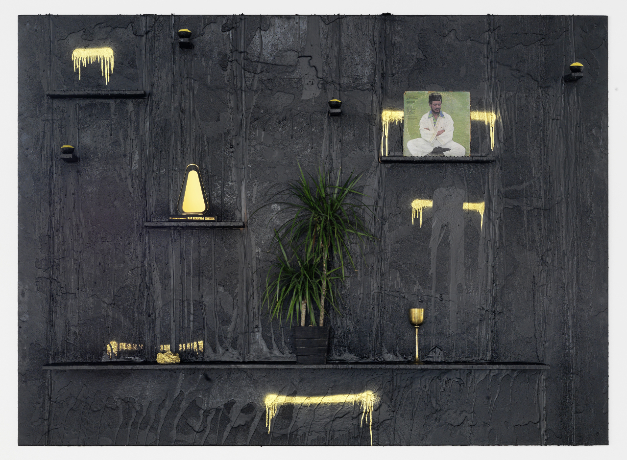 contemporaryartdaily: Rashid Johnson at Guido W. Baudach