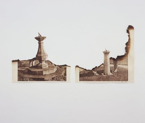 defacedbook: Jonathan Owen Untitled, 2008  Burnt book pages (38 x 18 cm)