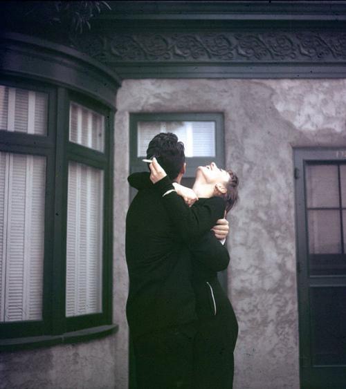 deathofastylist :     Dean Martin and Audrey Hepburn