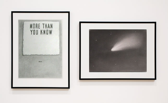 defacedbook: Euan MacDonald More Than You Know, 2007 Pencil on paper, 2 sheets 2 pieces (Each 31 x 23.5 cm)
