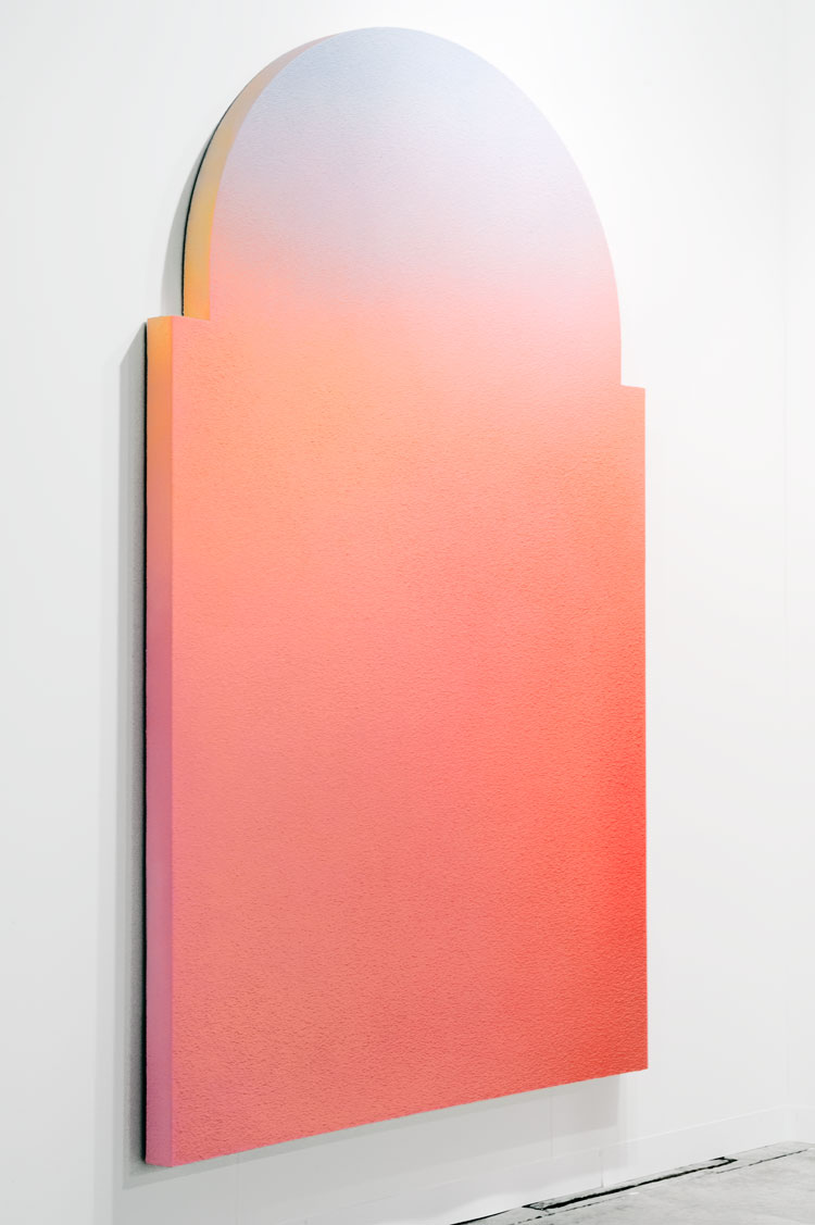 thesyzcollection: Alex Israel Untitled (Flat) 2011 Acrylic on stucco, wood and aluminium frame 259,08 x 152,4 cm