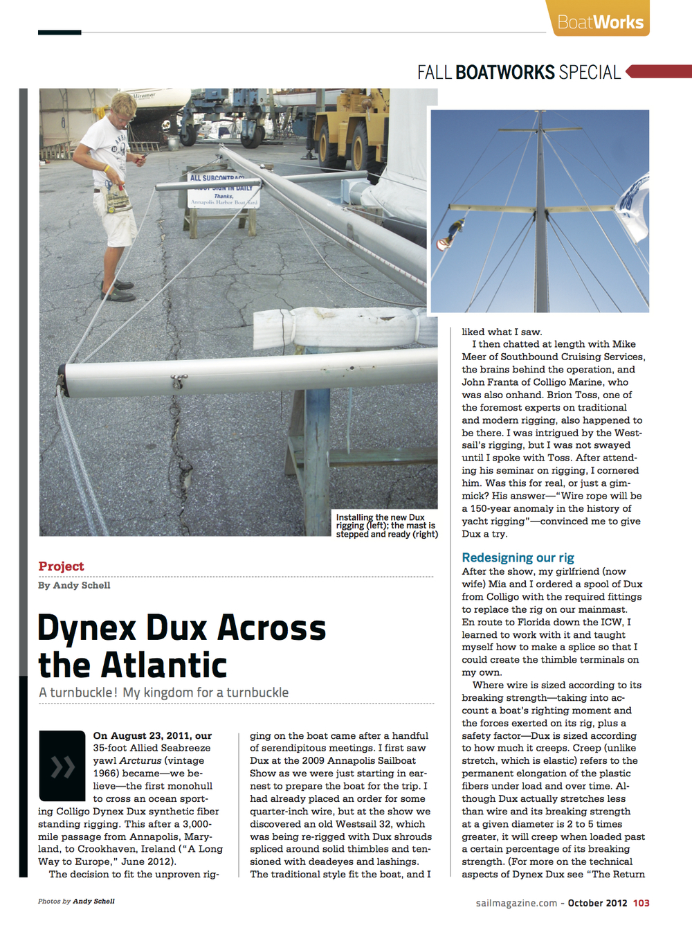SAIL: Dynex Dux Across the Atlantic