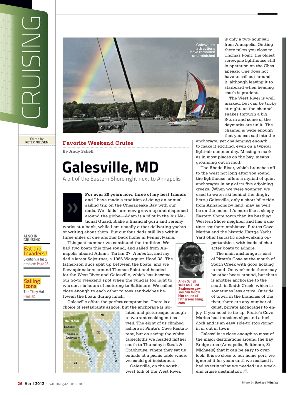 SAIL: Galesville Cruise