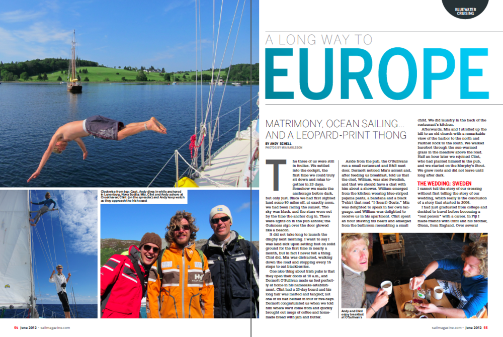 SAIL: Long Way to Europe