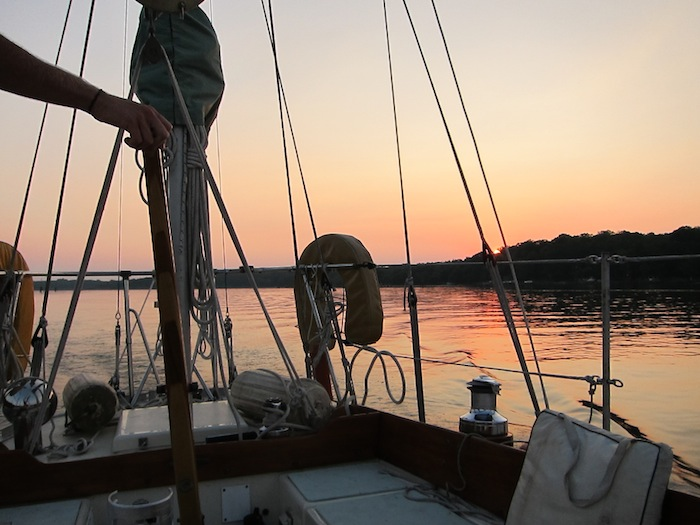 Departure, Chesapeake Bay July 2011