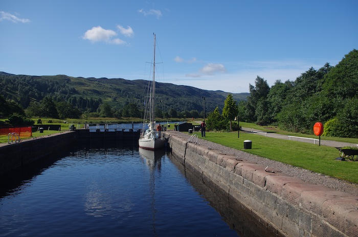 Caledonian Canal - July 2012