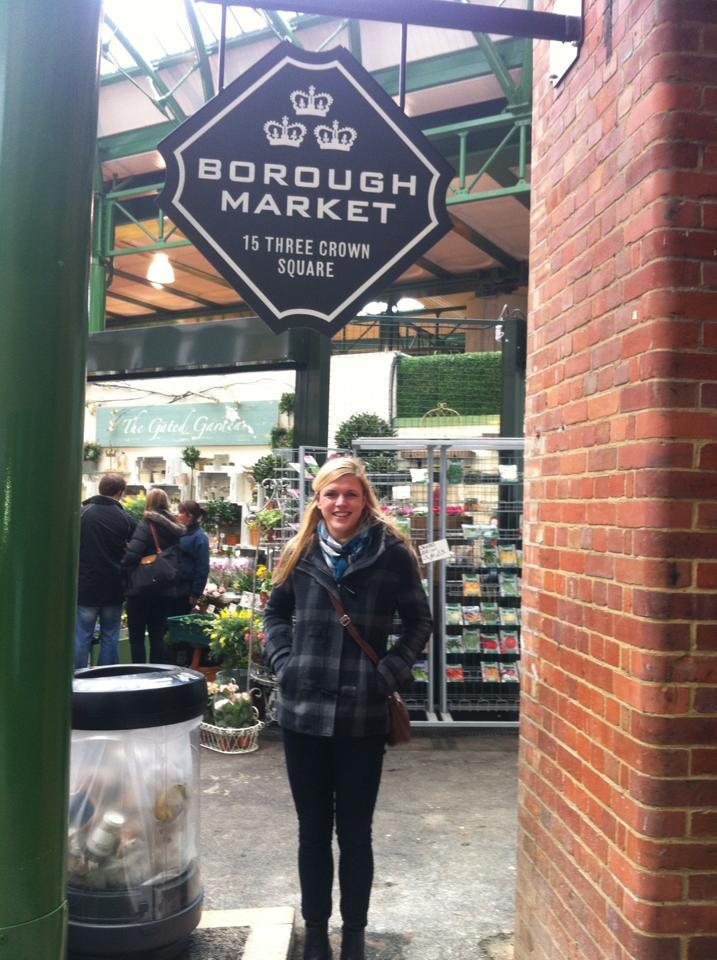 Jag pa Borough Market