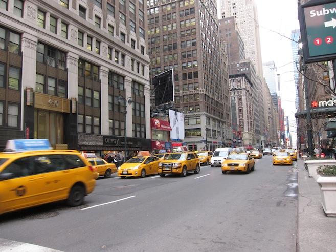 Yellow Cabs är ingen myt...