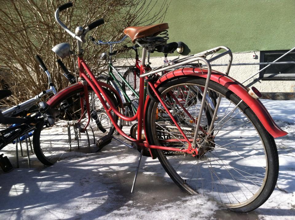Denna cykel längtar nog till våren mer än någon annan... :)