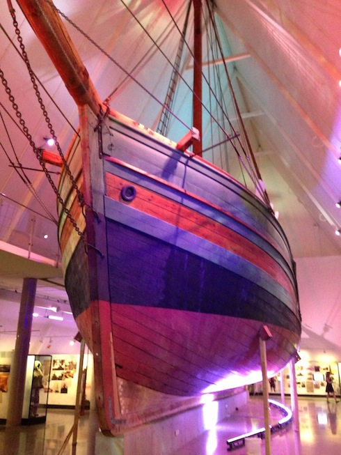 Amundsen's NW Passage ship Gjoa