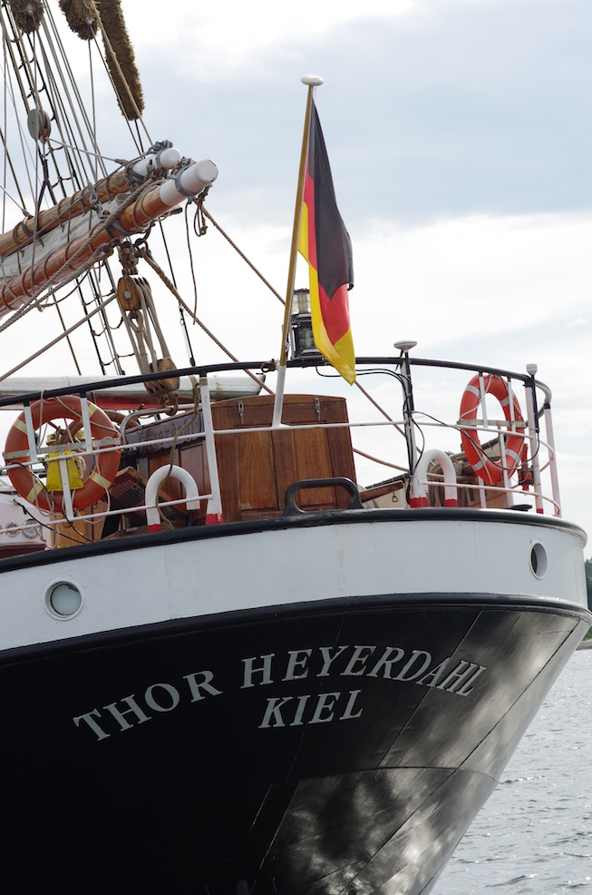 Thor Heyerdahl seems an odd name - he was Norwegian!