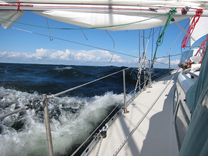 Segling över Ålands Hav