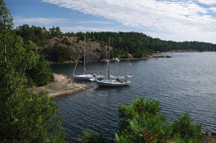 Vår vik i Ålö
