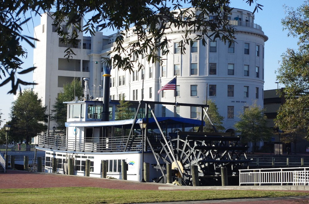 Portsmouth-Norfolk Paddlewheel ferry