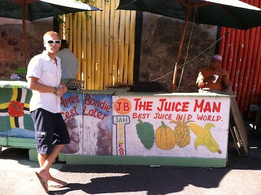 Dominica - The Juice Man har de bästa smoothies!