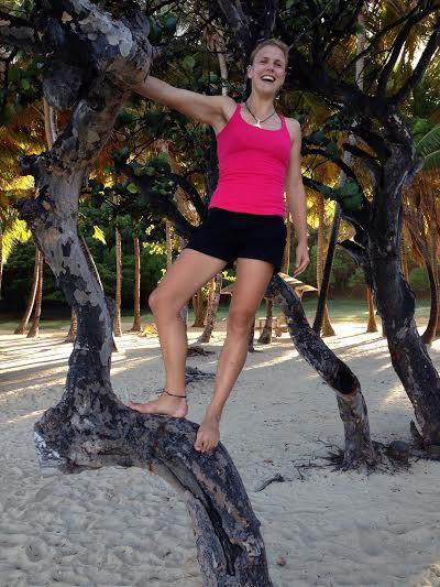Les Saintes - Massa roliga klätterträd!