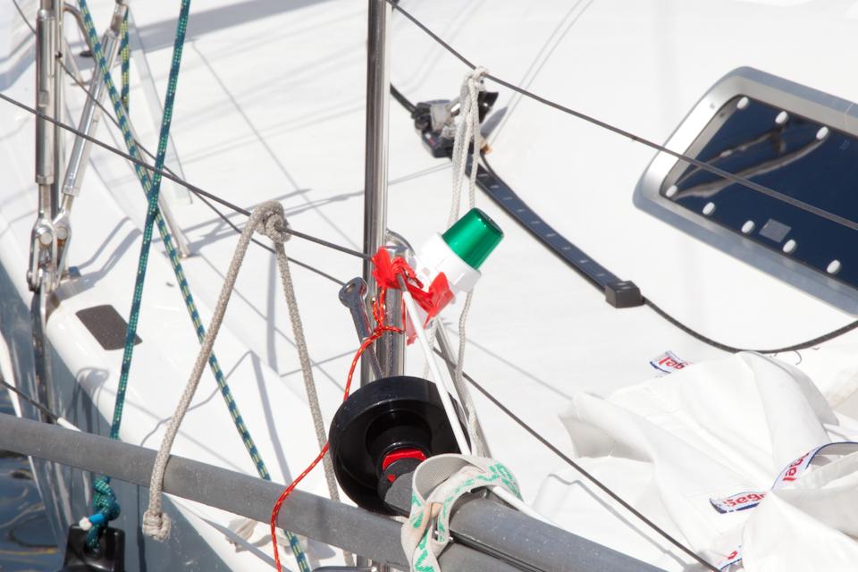 Pollux' spare nav lights