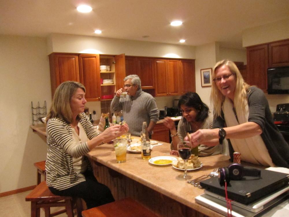 Middagen lagas upp i Bretton Woods