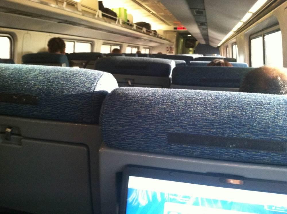 De amerikanska tågen