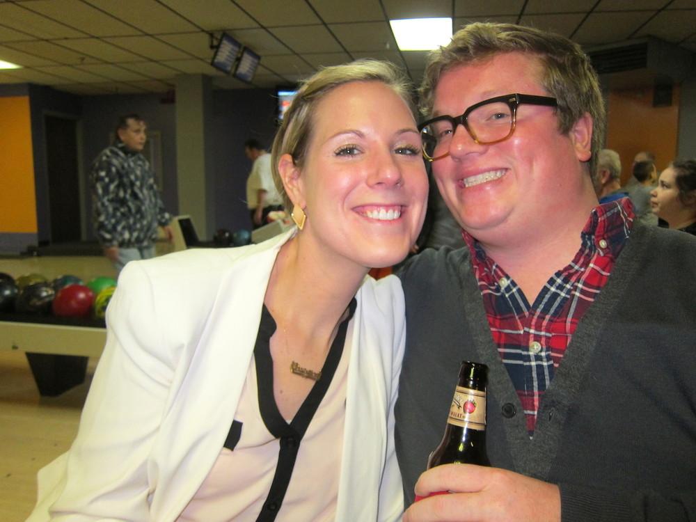 Nate och hans tjej Christina