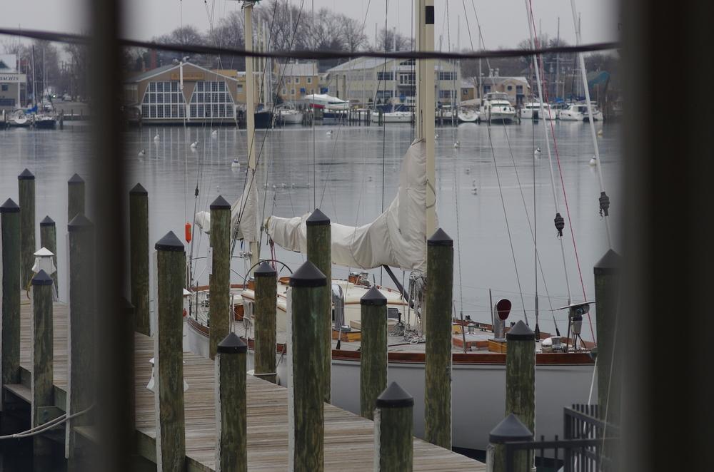 s/v 'Windalier' outside the US Sailing HoF