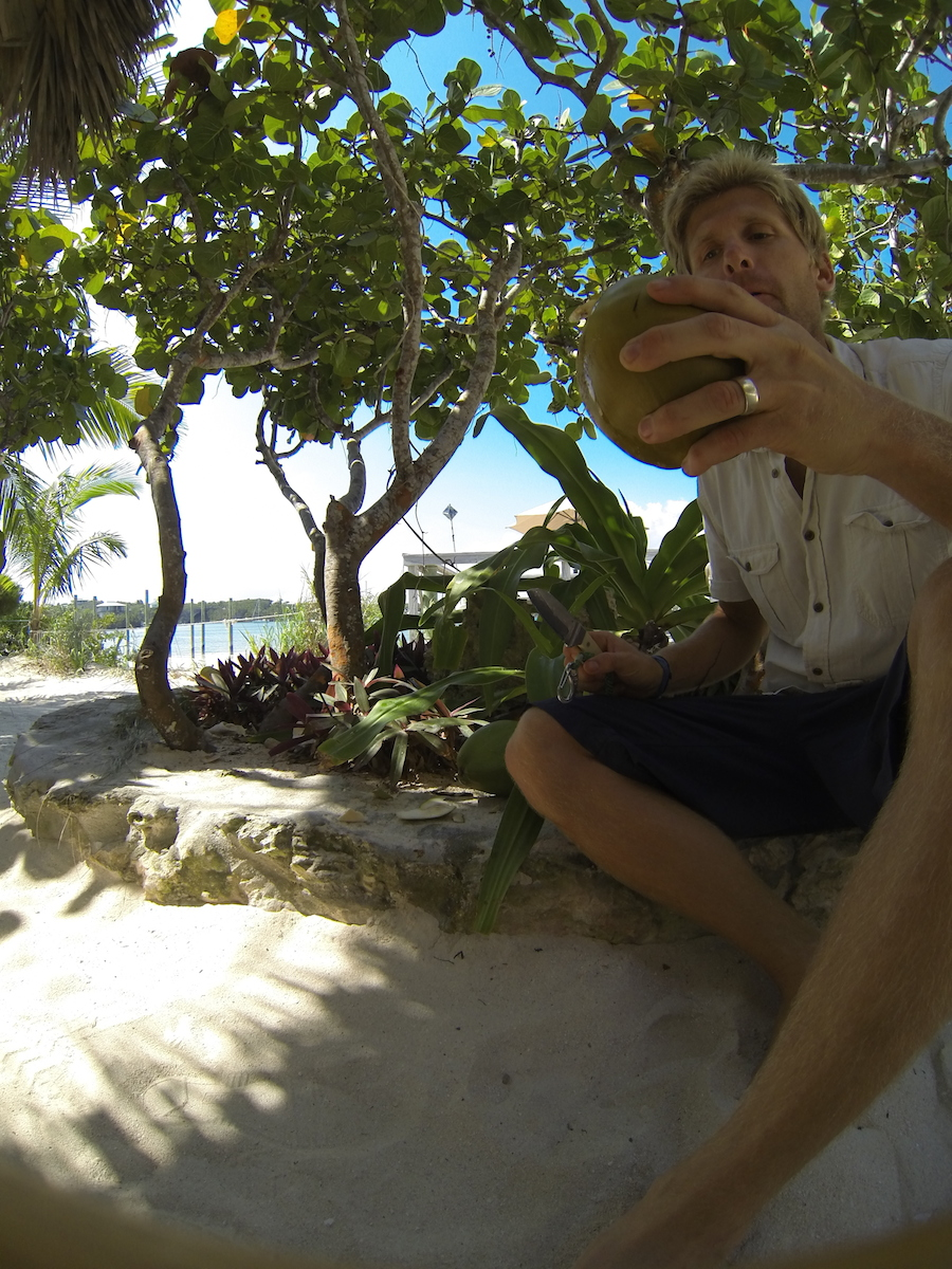 And boy are they tasty! Nothing beats fresh coconut water.