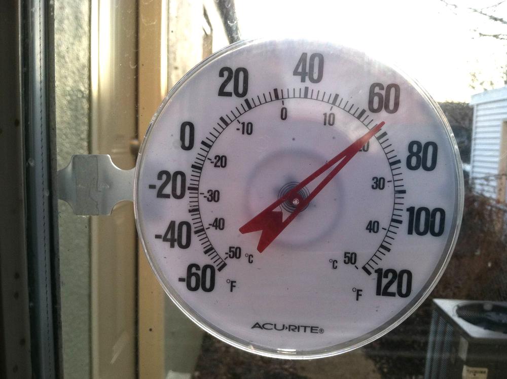 20 grader klockan sju på kvällen!!