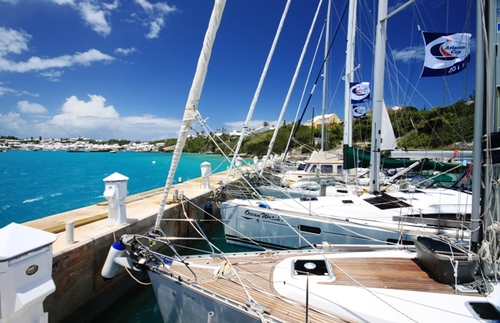 ARC Europe 2011 at the Dinghy Club in St. Georges.
