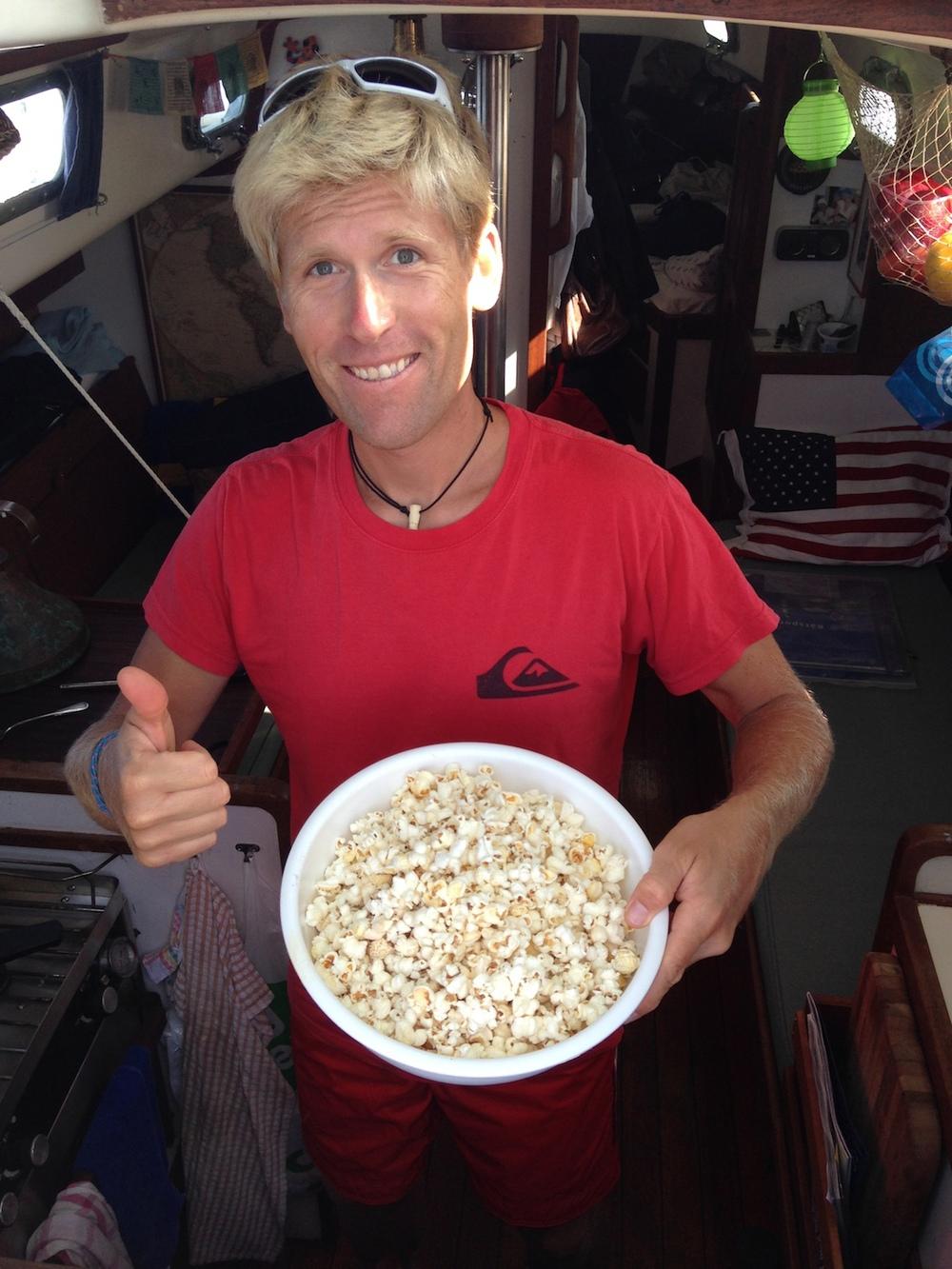 Popcorn är såååå gott!