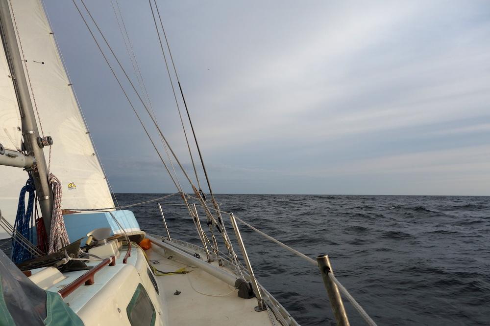 Segling från skärgården till Gotland