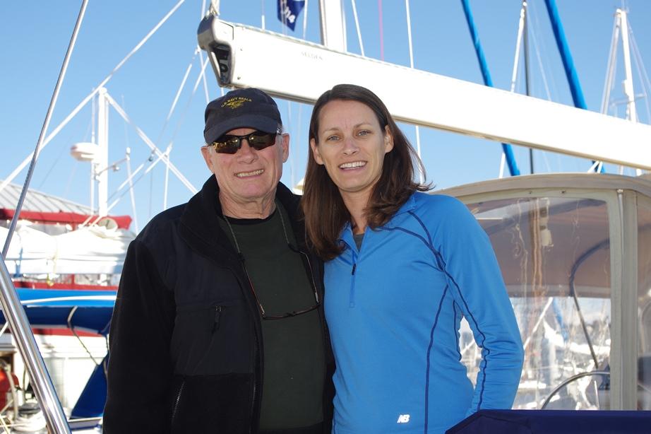 Far och dotter seglar Windswpt ner till BVI