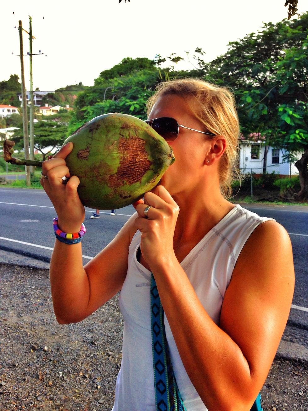 Kokosvatten, finns inget bättre!!!