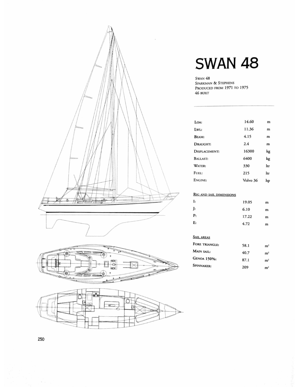 59 North Sailing Swan 48 Isbjorn 1972 Ss 2004 Polar Boat Wiring Diagram On Deck