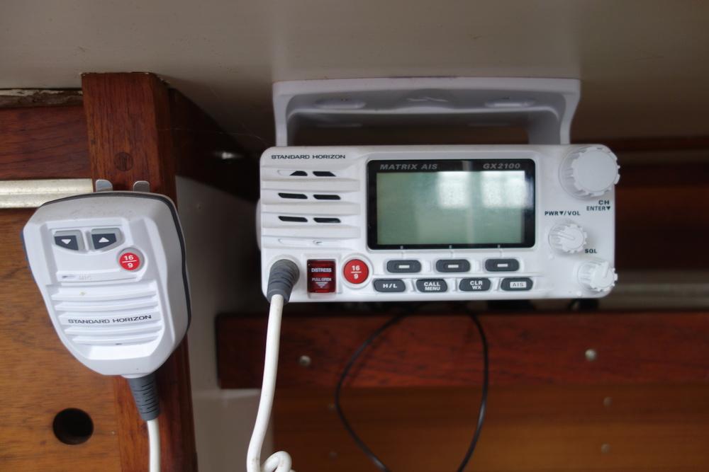 VHF/AIS receiver.