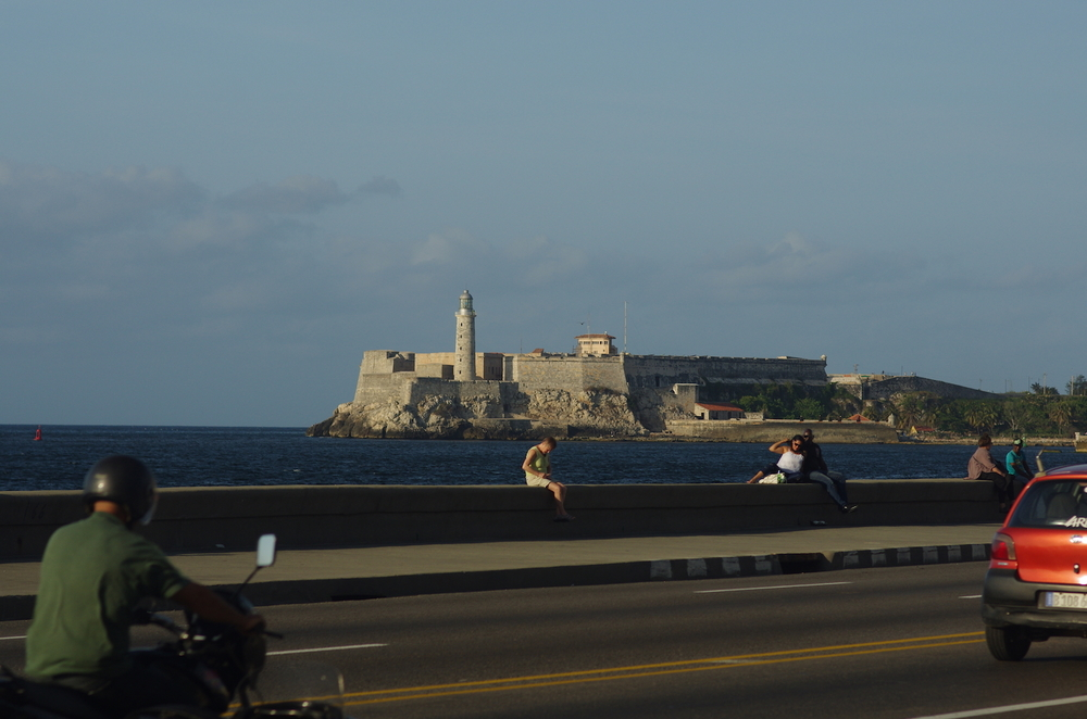 'El Morro' guards the entrance to Havana harbor.