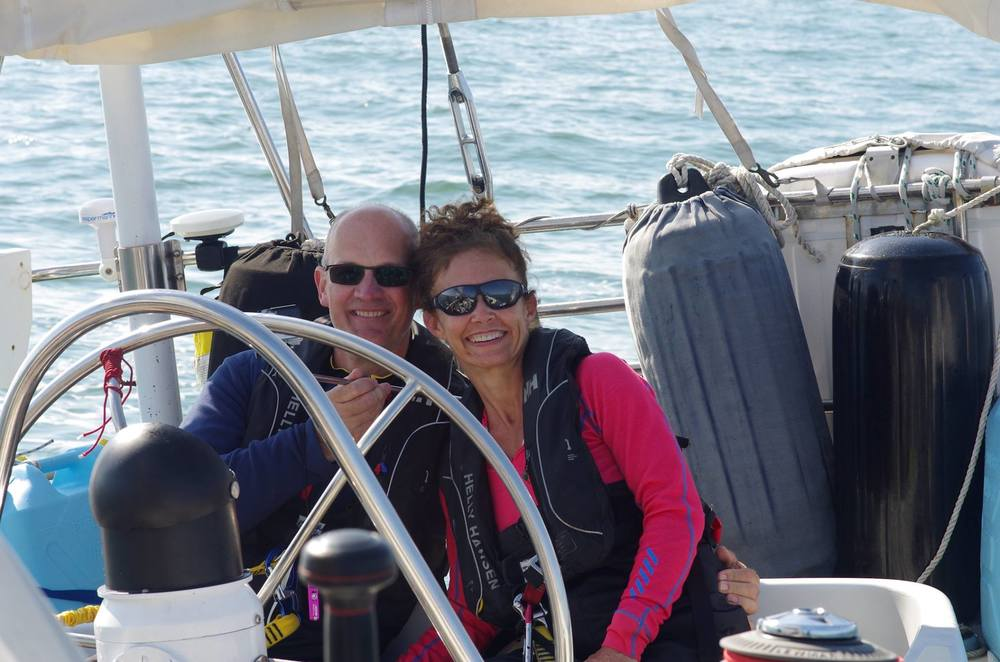 Daniel & Isabelle joined us as the first step to fulfilling their own ocean sailing dreams. Florida-Annapolis 2016
