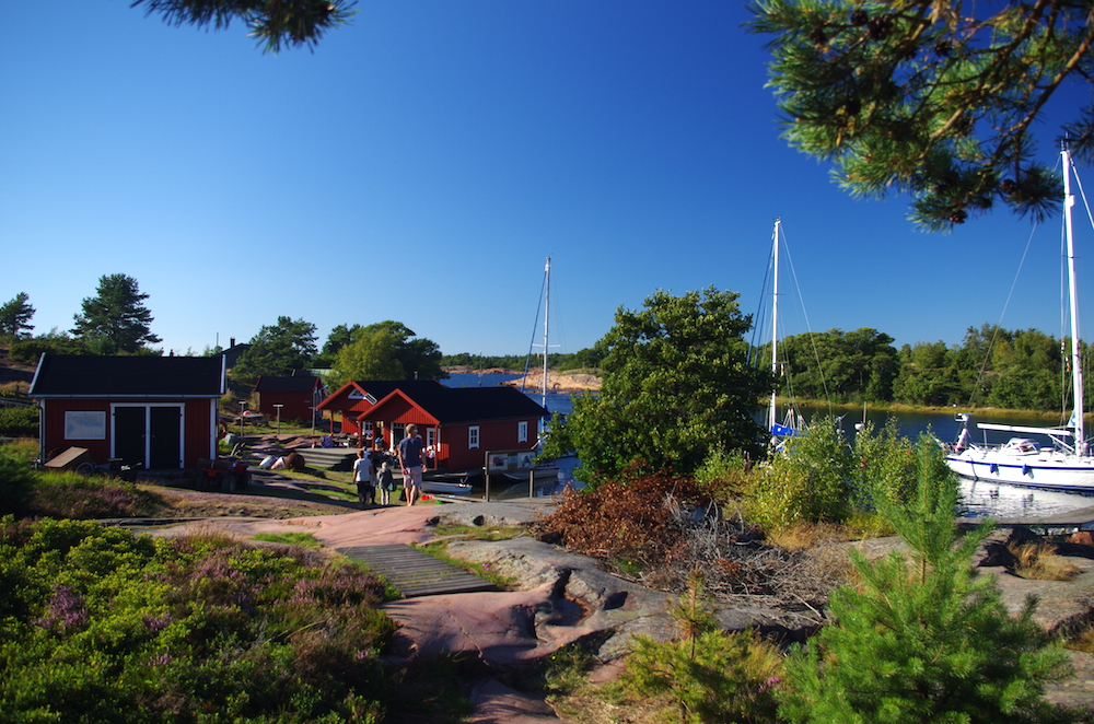Rödhamn, one of our favorite places in Åland!