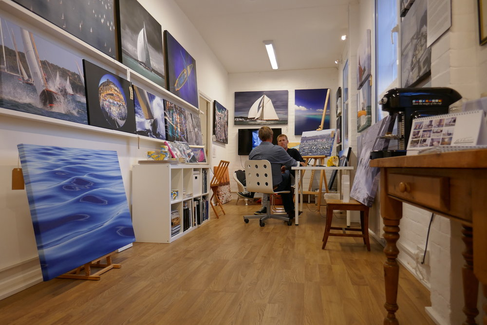Rick Tomlinson's Gallery/Studio