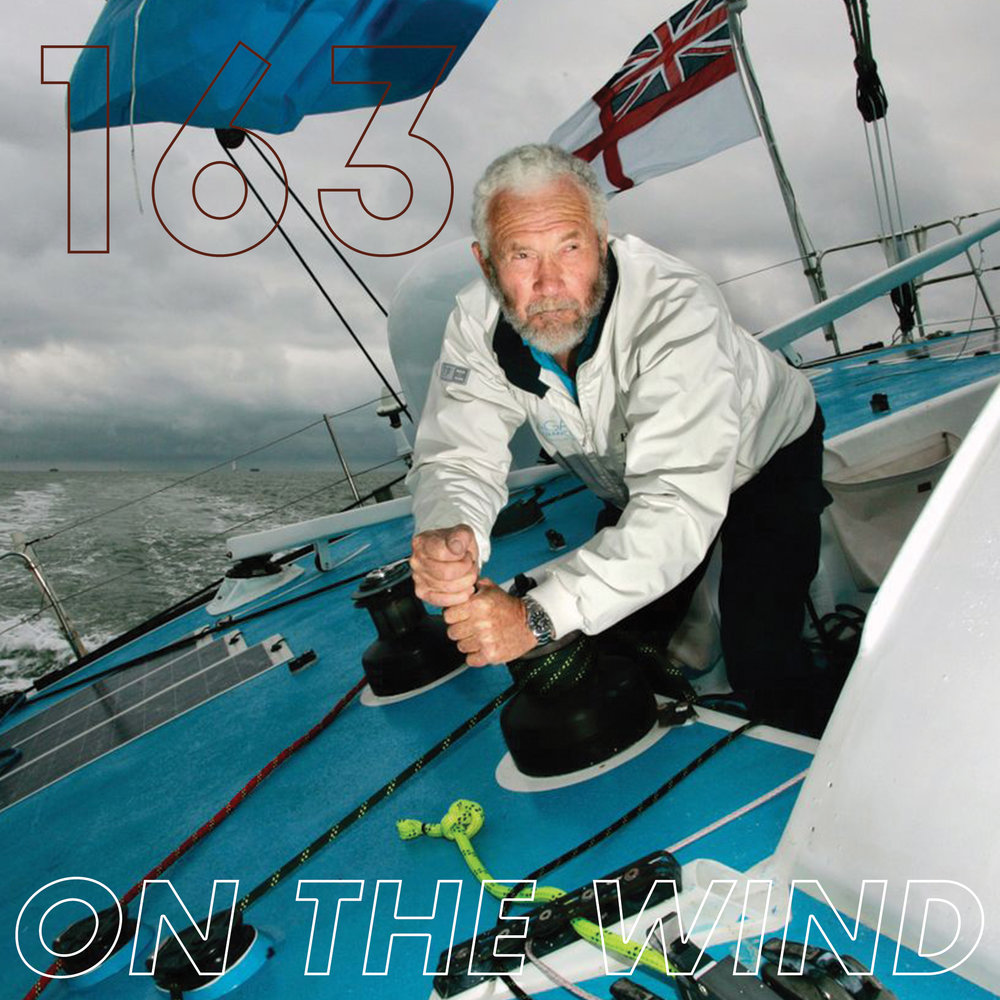 Sir Robin training for the Route du Rhum. Photo courtesy Yachting World.