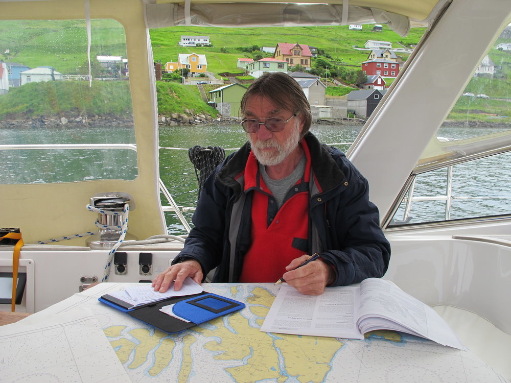 Nigel calculating tidal currents