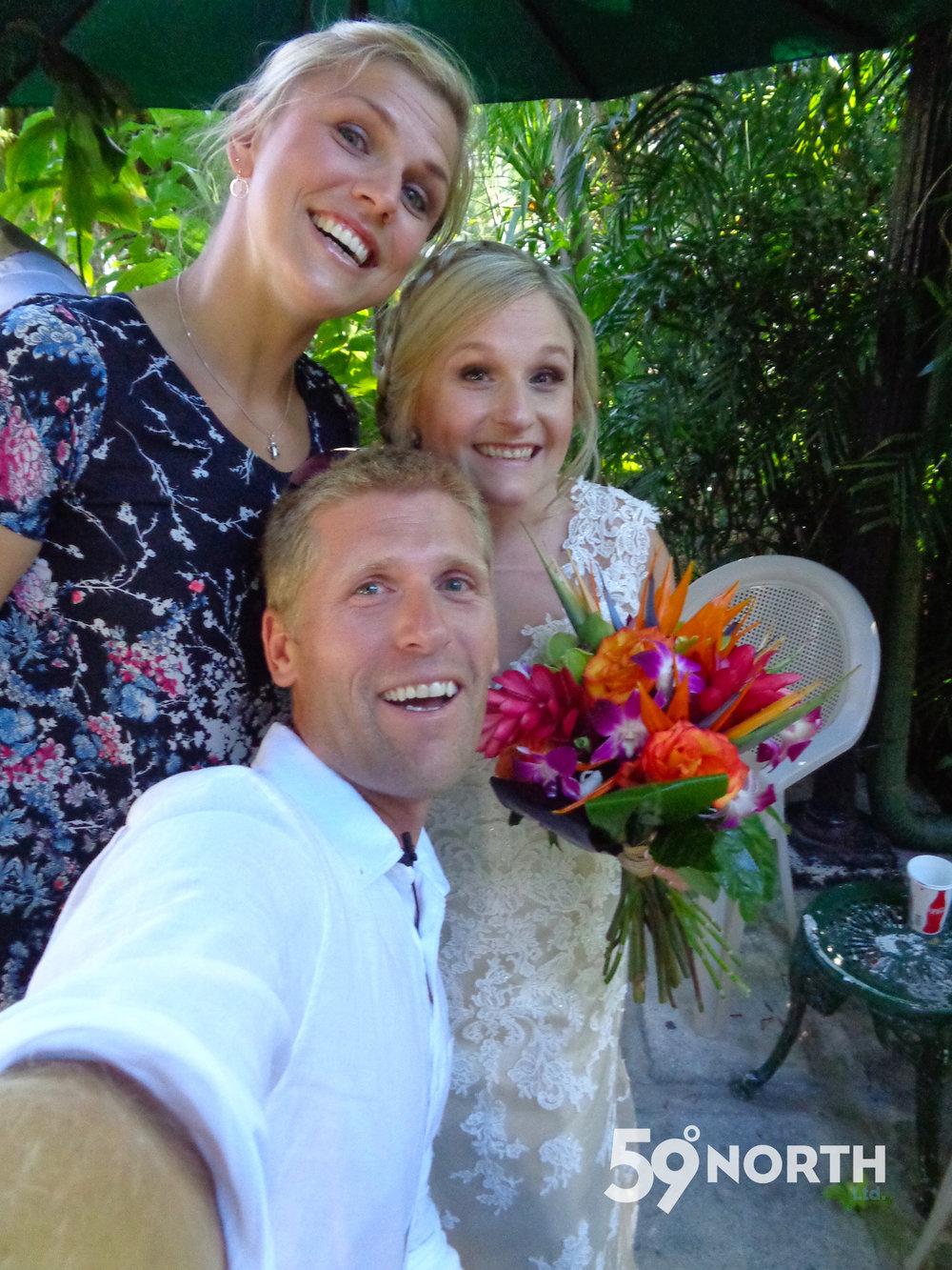 Andy's sister Kaitie got married to her Kevin in Key West. April 2016