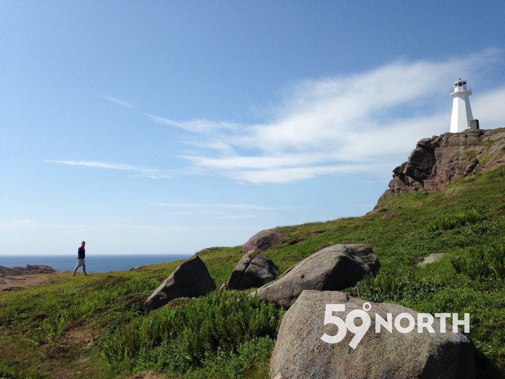 A scooter ride out to Cape Spear Lighthouse, Newfoundland. July 2016