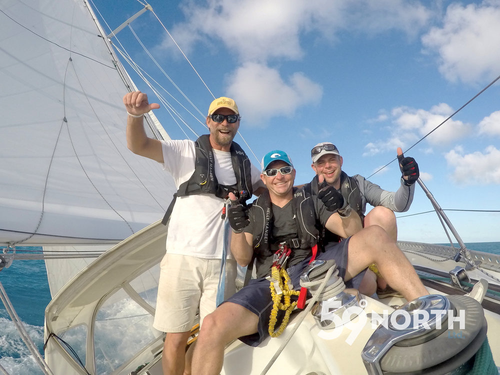 Isbjorn participated in the RORC Caribbean 600 race from Antigua. Feb 2016