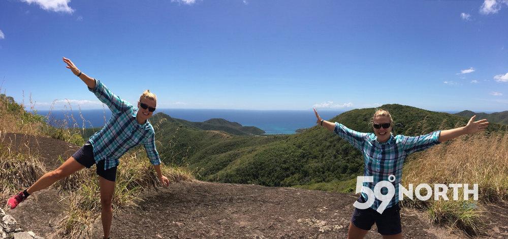 Fun hiking in Antigua! March. 2016